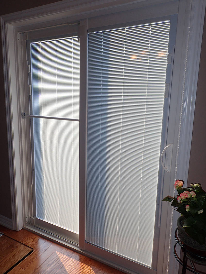 Inside View with Blinds